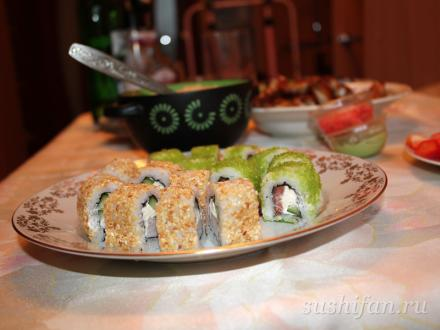 порезали и подали :) | суши, роллы, сашими