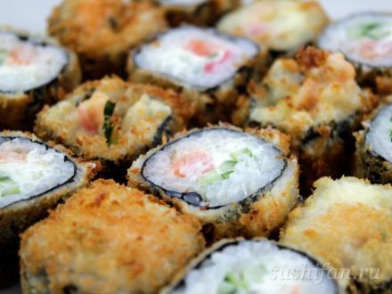 Темпурное удовольствие | суши, роллы, сашими