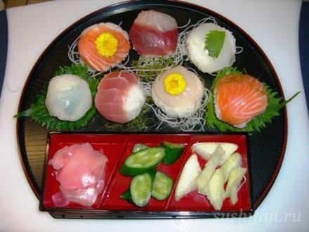 темари суши | суши, роллы, сашими