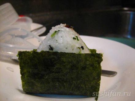 онигири готовы! | суши, роллы, сашими