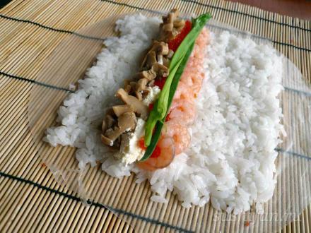 рецепт роллов харумаки
