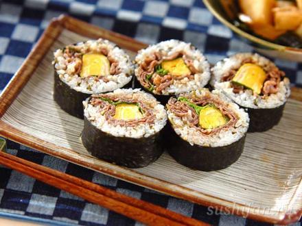 роллы с мясом | суши, роллы, сашими