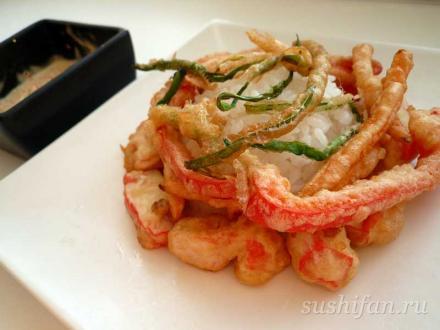 ясай темпура | суши, роллы, сашими