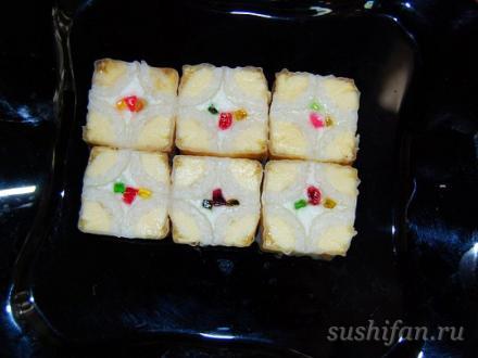 сладкие суши с бананом | суши, роллы, сашими