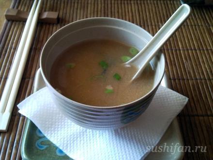 мисо суп | суши, роллы, сашими