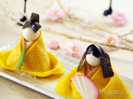 Суши - куклы Хина | суши, роллы, сашими