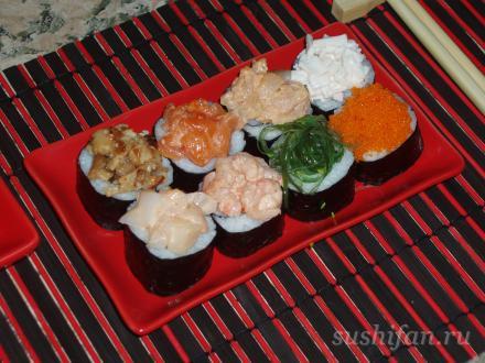 Канапе сэто New  | суши, роллы, сашими