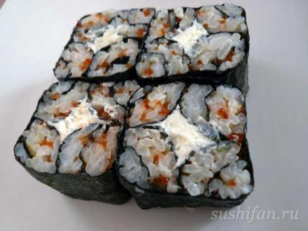 ролл мозаика   суши, роллы, сашими