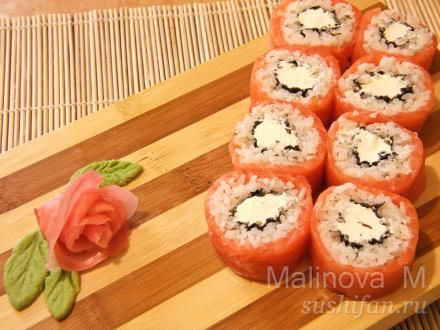 Суши и роллы рецепты с фото