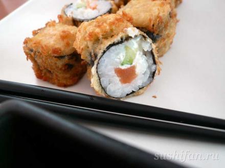 Маленькие темпурные роллы | суши, роллы, сашими