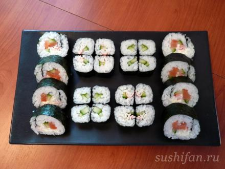 Простые роллы на ужин | суши, роллы, сашими