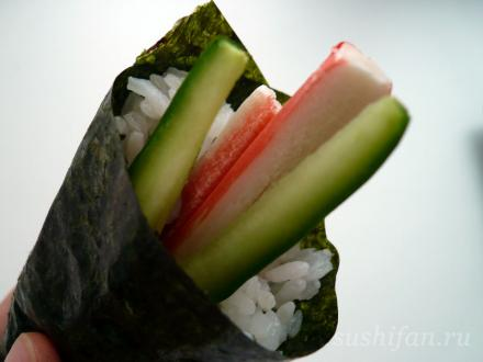 Кани темаки | суши, роллы, сашими