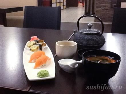 "Обед в ресторане ""Планета суши"" г. Иркутск | суши, роллы, сашими"