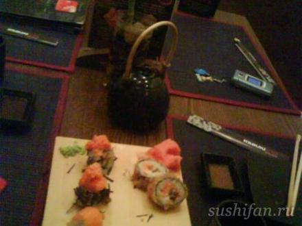 в Кабуки на К. Маркса | суши, роллы, сашими