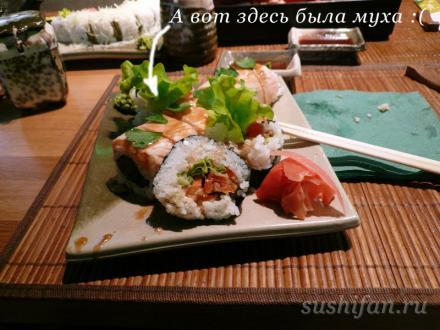 Очень неудачный обед в Васабико | суши, роллы, сашими