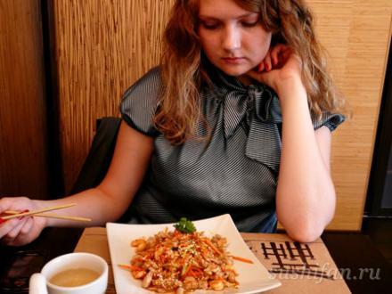 Тори кани ясай сарада  | суши, роллы, сашими