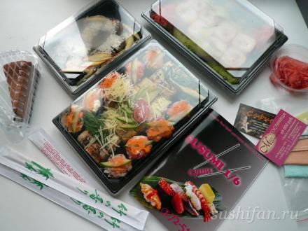 наш заказ в сусуми 1/6 суши | суши, роллы, сашими
