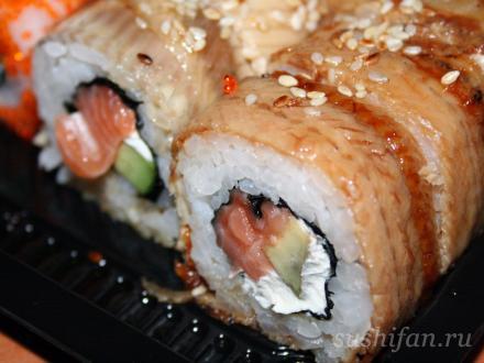 Канадский Ролл | суши, роллы, сашими