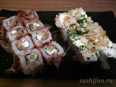 2 ролла в подарок от суши-студио | суши, роллы, сашими