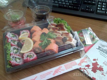 заказ в «Rocknroll» | суши, роллы, сашими