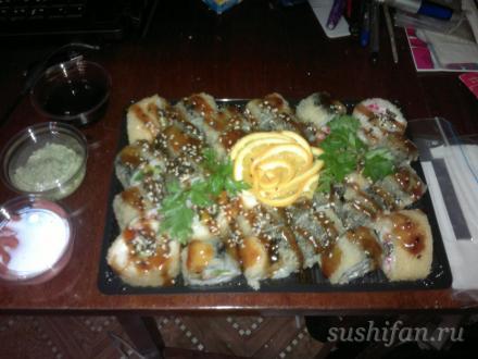 Темпура party от Сусуми суши | суши, роллы, сашими