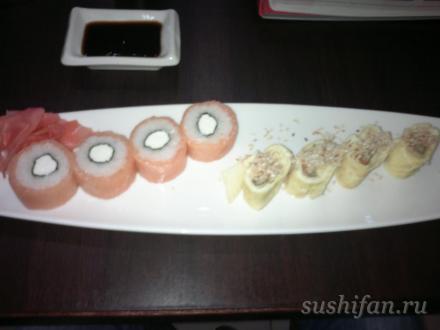 филадельфия и умаки | суши, роллы, сашими