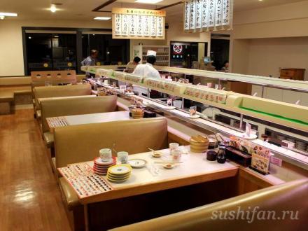 Зал ресторана | суши, роллы, сашими