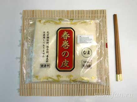 тесто для Харумаки (спринг роллов) | суши, роллы, сашими