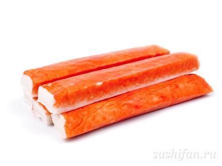 Крабовые палочки | суши, роллы, сашими