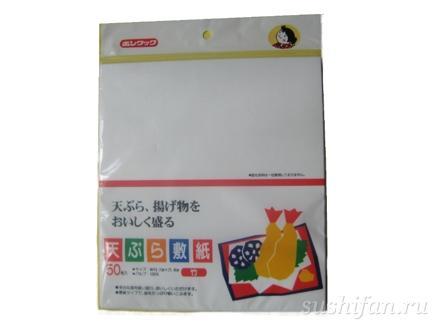 Бумага для темпуры